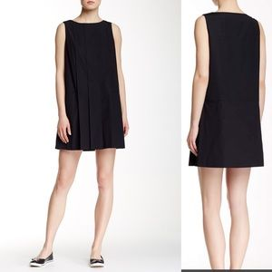 Marc Marc Jacobs black pleated mini dress small S